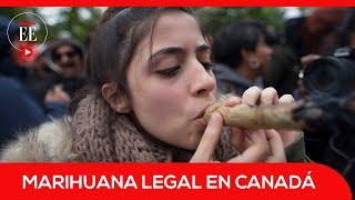 Comprar marihuana en Canadá es legal: así fue el primer día de despenalización | El Espectador