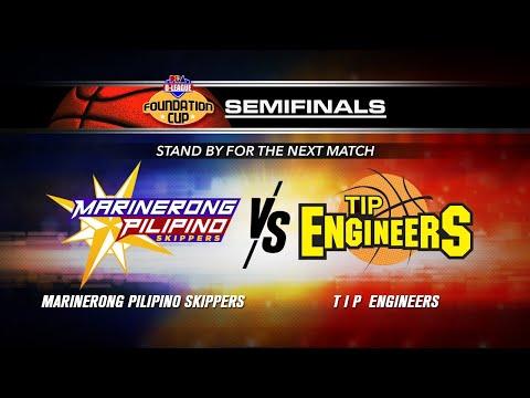 September 19: Semis Gm 1 | Marinerong Pilipino vs TIP Engineers | PBA D-League 2019 Foundation Cup