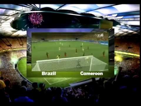 Brazil vs Cameroon 4 1 All Goals and Highlights   Brasil vs Camerun