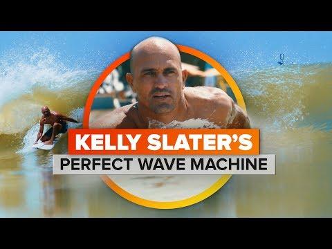 Scottro - Surfer Creates Perfect Wave Machine