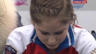 Yulia Lipnitskaya (27.12.2014) Free Skating at Sochi 2015 Russian Figure Skating Championships
