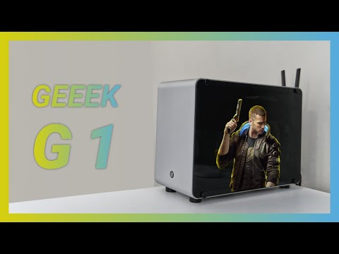 GEEEK G1 Mini-ITX PC case unboxing & build w/ Cyberpunk 2077