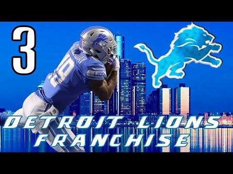 Stingy D | Detroit Lions Franchise | Madden DUO Online Franchise w/Slacker Gaming