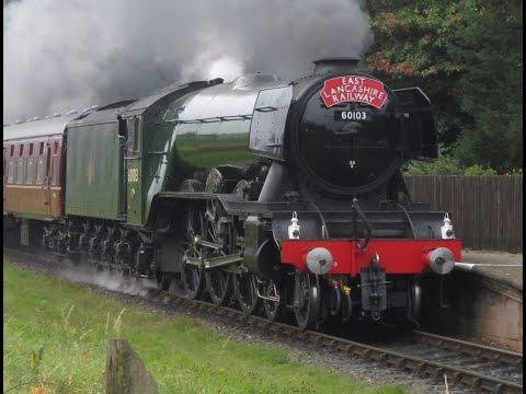 East Lancashire Railway: Flying Scotsman Returns (Saturday 15th October 2016)