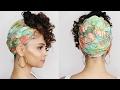 Natural Hair: Head Wrap Style for Long Hair