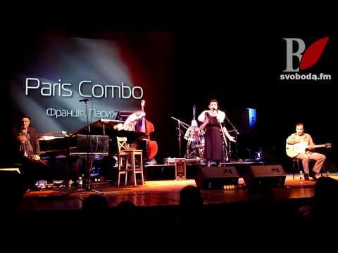 "PARIS COMBO на ""Chernihiv Jazz Open 2012"""