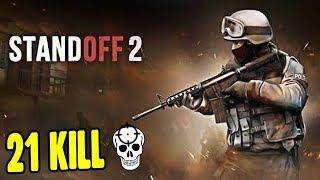 Нуб набил 21 kill Играю первый раз в Standoff 2 мобильная Контра Counter Strike на андройд