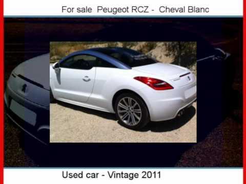 Sale One Peugeot RCZ  Cheval Blanc  Vaucluse