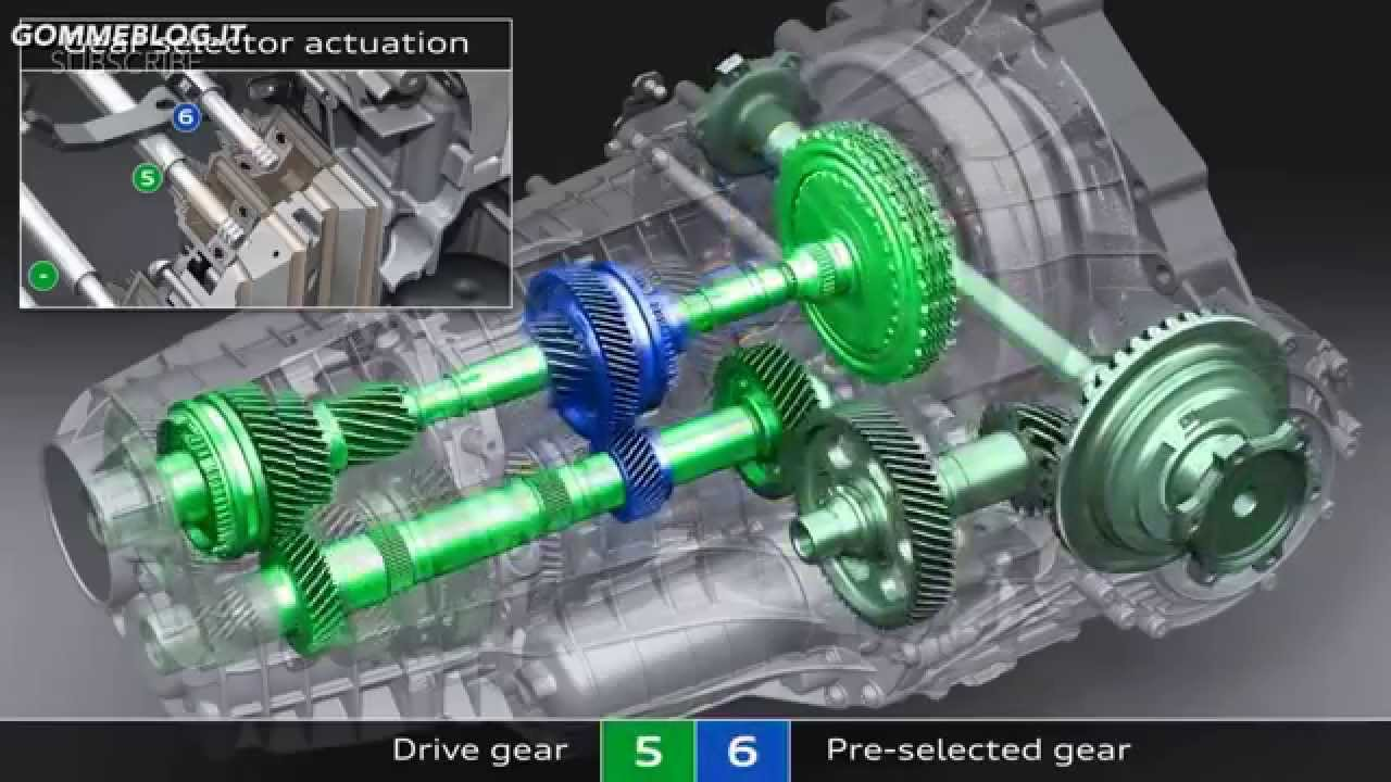 Audi A7 The New S Tronic 7 Speed Transmission Youtube