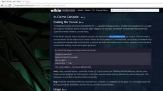 Mass Effect: Enabling Console