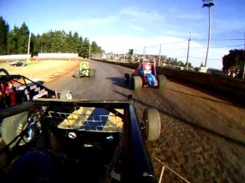 Alberding Racing, wingless sprint car race