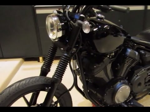 low and mean fat fork tubes for the yamaha bolt review