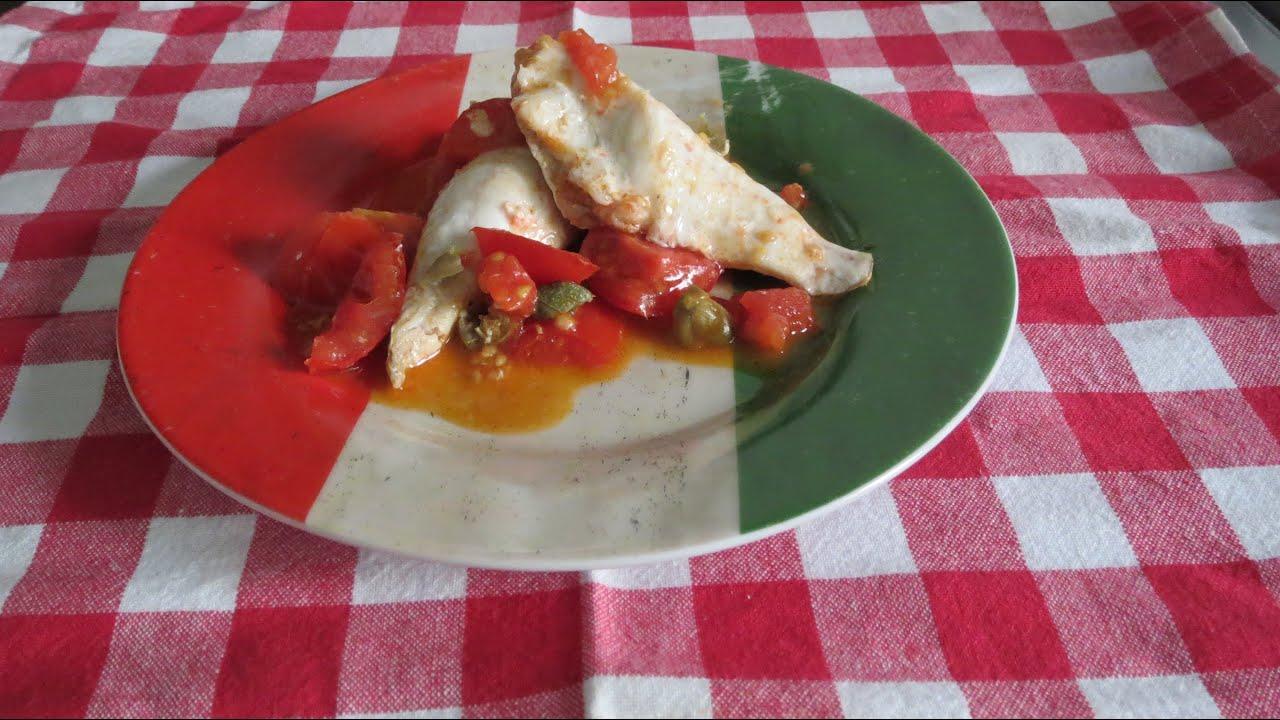 filetti di gallinella al pomodoro - youtube - Come Cucinare Filetti Di Gallinella