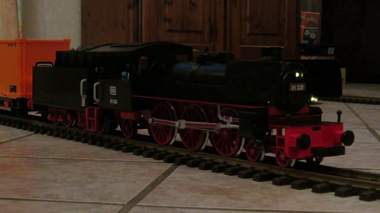Locomotive train playmobil custom youtube - Train playmobil ...