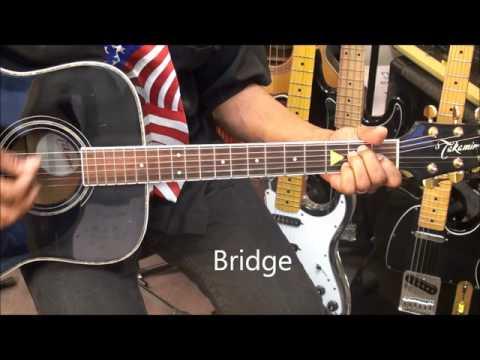 PRETTY WOMAN Roy Orbison Guitar Lesson EricBlackmonGuitar HD