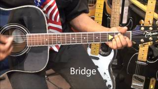 How To Play PRETTY WOMAN Roy Orbison On Guitar Lesson EricBlackmonGuitar