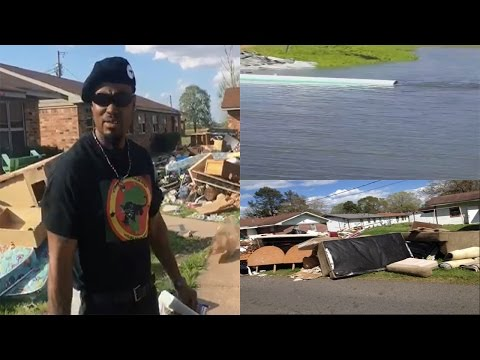 City Of Monroe,La Exposed Pumping Flood Water From A White Neighborhood Into Black Neighborhoods