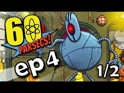 Planeta ROBOTŮ 🤖 🚀 60 PARSECS Ep4 1/2 + steam klíč