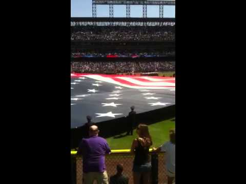 Rockies opening day 2012