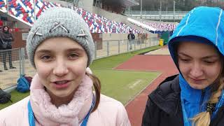 Юлия Халилова-золотой и Анастасия Колчина серебряный призер Первенства России-2019 U18 ходьба 5000 м