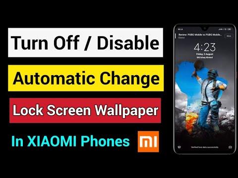 Turn Off Mi Lock Screen Wallpaper Auto Change | Mi Wallpaper Carousel Lock  Screen Wallpapers