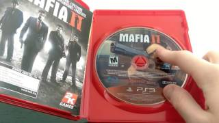 UNBOXING: Mafia II Greatest Hits【PS3】
