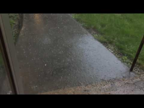 Hail Returns to Swift Current