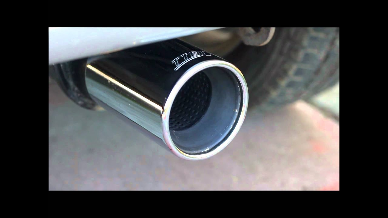 Toyota Yaris Trd Exhaust Youtube All New Kijang Innova Tte Muffler On A 1 3