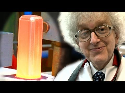Red-Hot Platinum Ingot - Periodic Table of Videos - YouTube