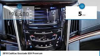 2018 Cadillac Escalade ESV Escondido Ca 7181023