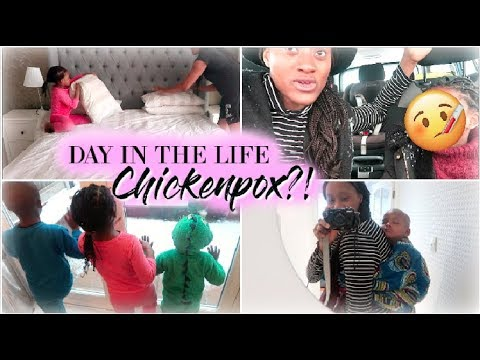 THEY SAID SHE HAS CHICKENPOX?! 😳   SNOWY DAY IN THE LIFE