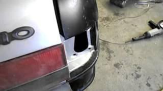 Кузовной ремонт.Ремонт Волги 3110