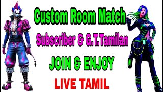 Free Fire Live Tamil Subscriber Game Paly & GameTech Tamilan