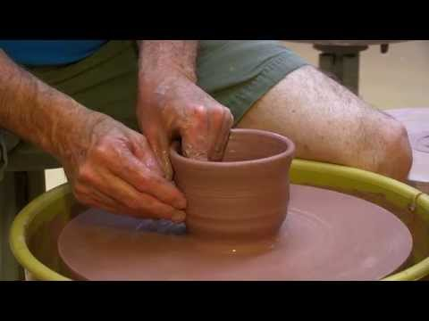 CLAY POTTERY PROCESS EXPLAINED STEP BY STEP
