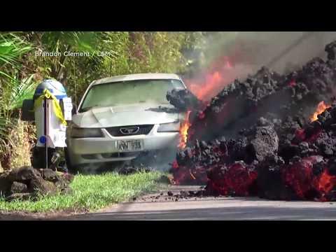 Vulkan Kilauea auf Hawaii: Die Lava frisst sich unaufhaltsam weiter