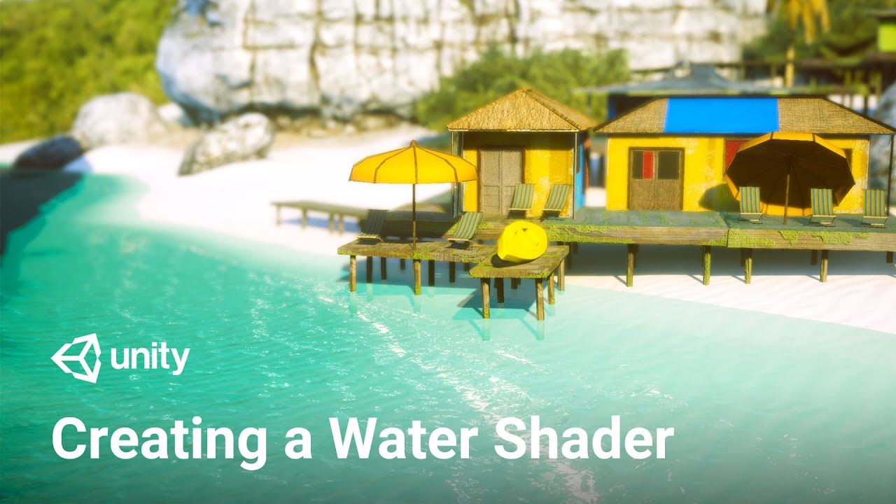 Making a Water Shader in Unity with URP! (Tutorial)