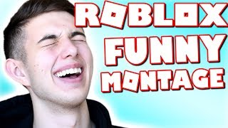 ROBLOX FUNNY MONTAGE.. #1 (Best Of LandonRB)