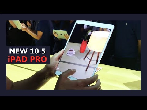 New Apple iPad Pro 10.5 and iOS 11 - Hands on