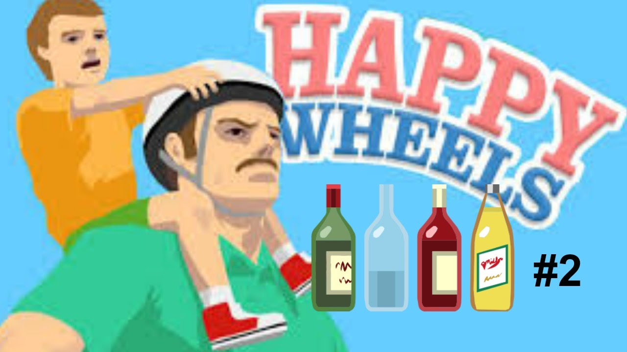 Happy Wheels 2 Longest Bottle Run Ever Youtube