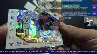 2018-19 Panini Contenders Draft Basketball 12 Box Case Break #19