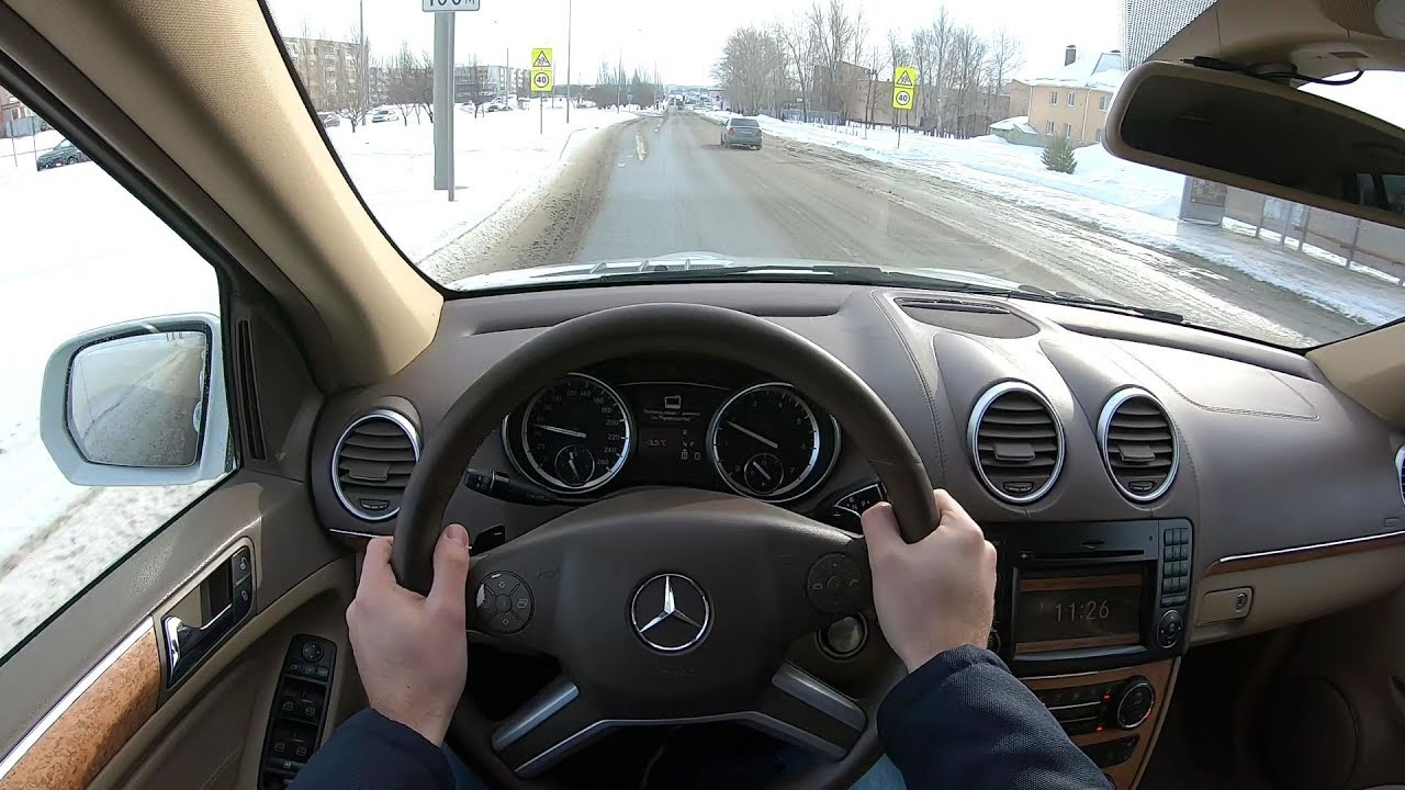 2010 MERCEDES-BENZ GL 500 4MATIC POV TEST DRIVE