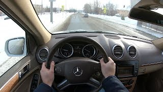 2010 MERCEDES-BENZ GL 500 4MATIC POV TEST DRIVE