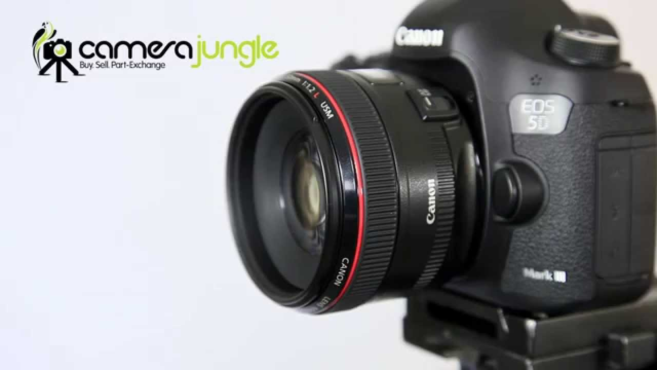 Canon EF 50mm f/1.2L USM - YouTube