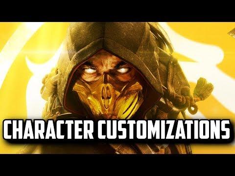 Mortal Kombat  All Character Customization Skins, Variation, Augments, Fatality, Moves Skills MK