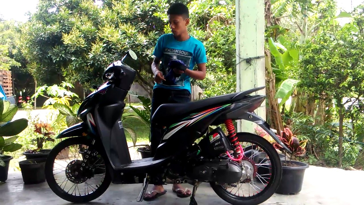 Download Koleksi 74 Foto Modifikasi Motor Honda Beat Pop Terunik