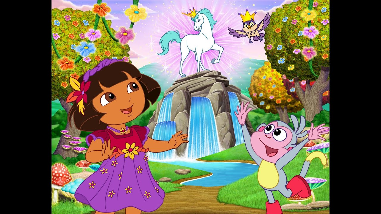 dora the explorer 2 full episodes games valentines days and unicorn