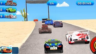 McQueen Cars Race Driving - Track Speed in JAPAN Gameplay