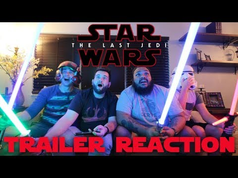 THE LAST JEDI TRAILER 2 REACTION | THOUGHTS, THEORIES AND DI
