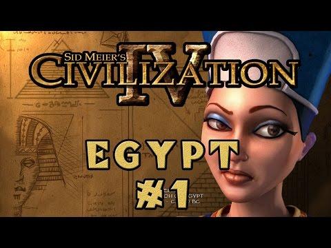Civilization IV - Egyptian Specialist Economy! - Episode 1