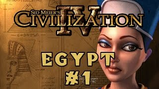 Civilization IV - Egyptian Specialist Economy! - Episode 1